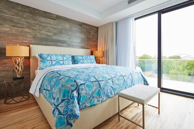 Coastal Bedroom, Wilmington, NC - Beach Style - Bedroom - Wilmington - by BRIDGETT MAZER INTERIORS