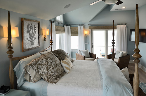 Coastal Contemporary Bedrooms
