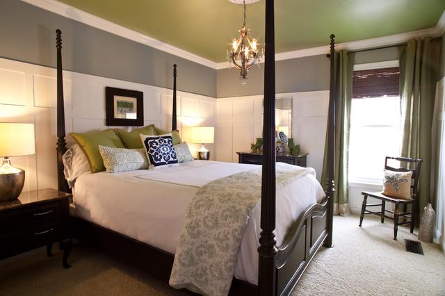 coastal guest bedroom traditional bedroom