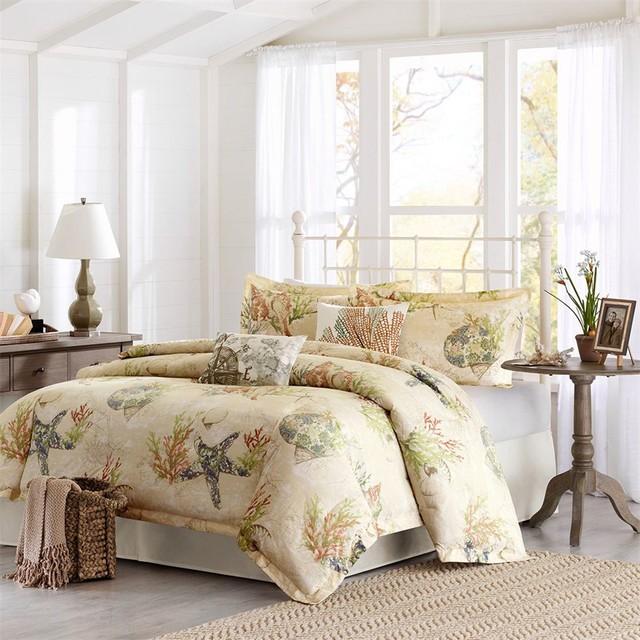 Coastal living bedding tropical bedroom san francisco by designer living - Bring your bedroom to life with great comforter sets ...