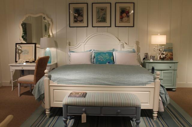 Coastal living cottage bedroom furniture Coastal master bedroom furniture