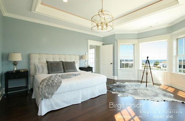 Coastal Living in Fairfield county - Beach Style - Bedroom - New ...