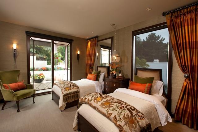 Coastal Luxury Transitional Bedroom San Diego By