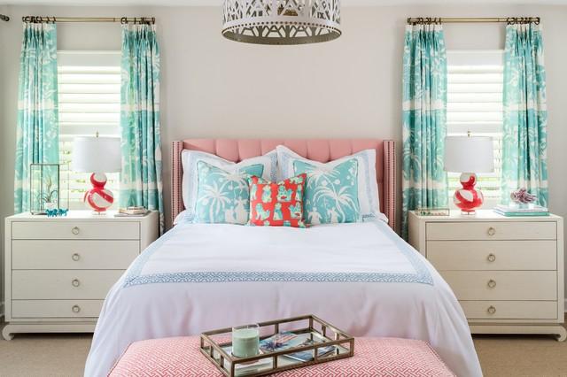 Coastal Master Bedroom Coastal Bedroom Chicago By R Titus Designs