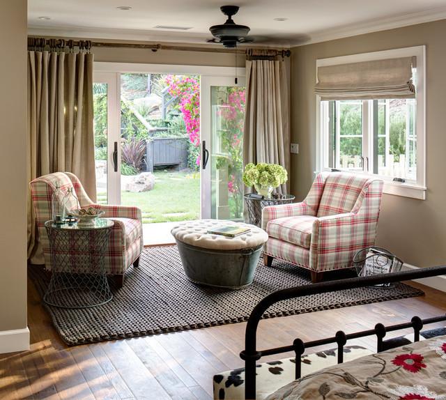 Coastal Ranch Farmhouse Bedroom