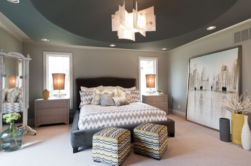 Transitional Bedroom by St Louis Architects & Designers The Design Source Ltd