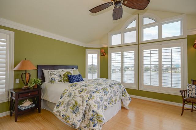 coastal waterfront home. Black Bedroom Furniture Sets. Home Design Ideas