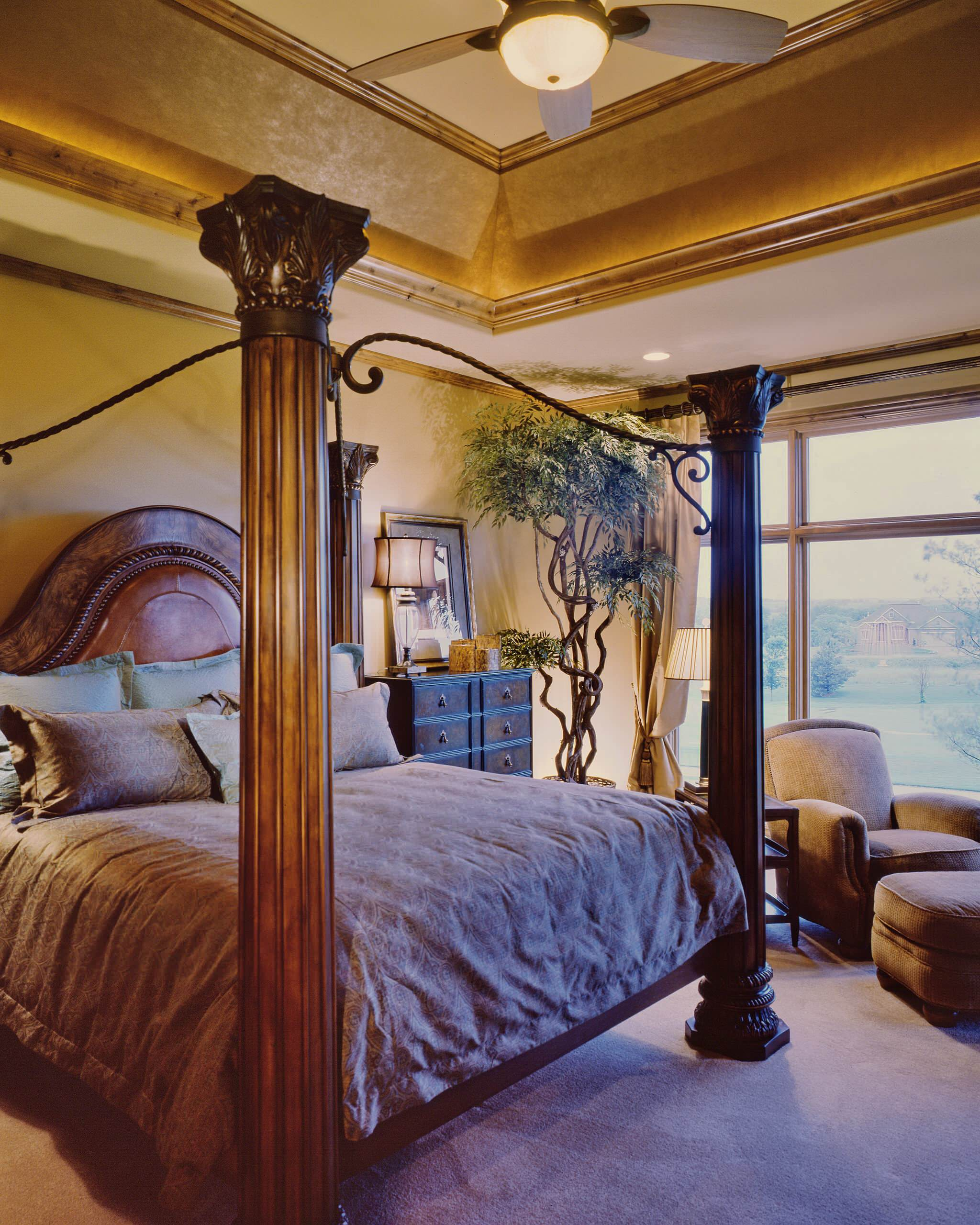 Rustic Four Poster Bed Houzz