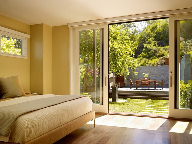 Cole Valley Hillside modern-bedroom
