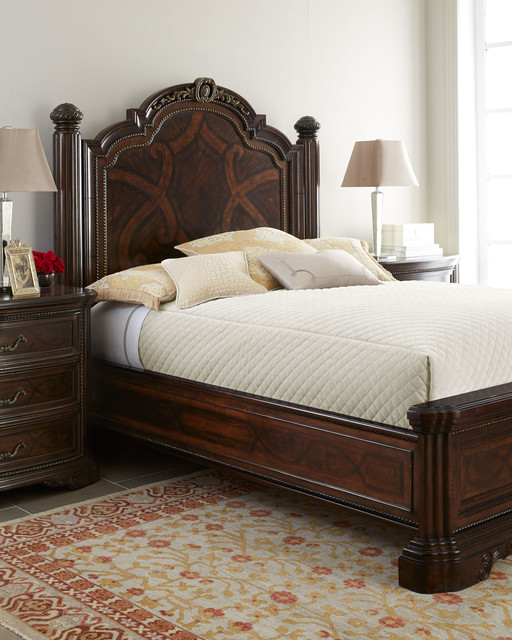Colette Panel Bed Bedroom Furniture Traditional Bedroom Dallas By Horchow