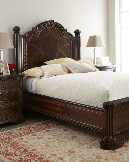 Colette Panel Bed Bedroom Furniture Traditional