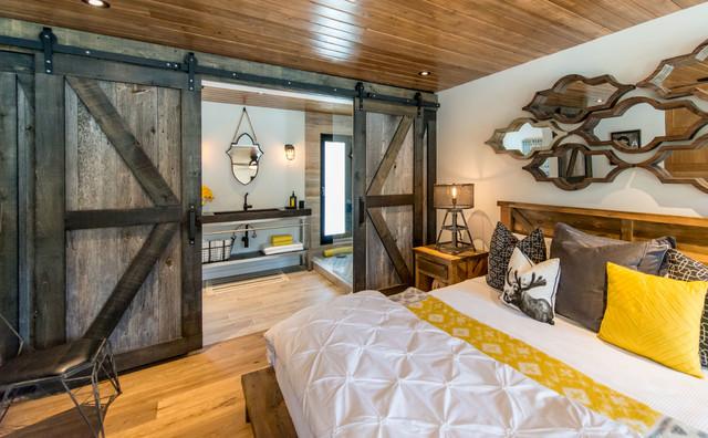 Colin U0026 Justin, Cottage Life Network, Cabin Pressure Rustic Bedroom
