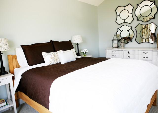 Collingwood Ski Chalet - Master Bedroom rustic-bedroom