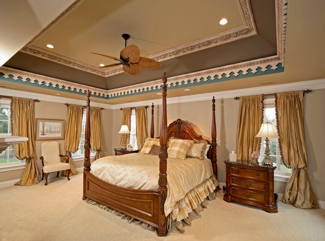 Colonial Addition traditional-bedroom