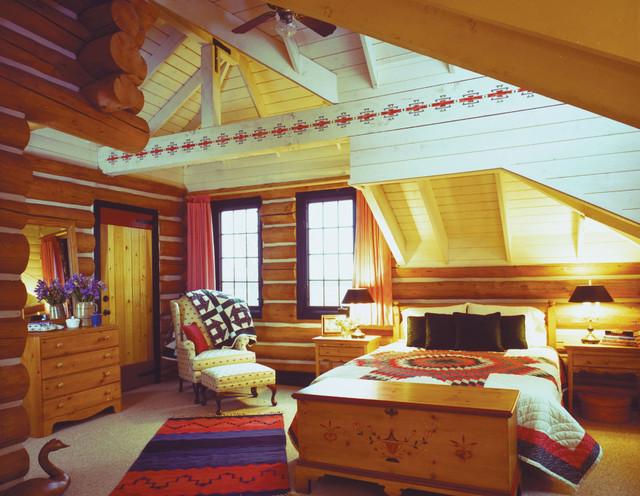 Colorado Ranch - bedroom traditional-bedroom