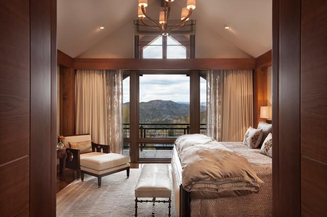 Colorado Ski House transitional-bedroom