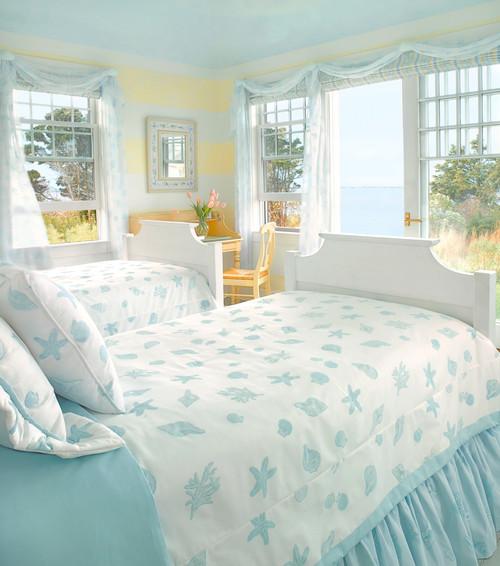 Amazing Beach Style Bedroom by Nantucket Interior Designers u Decorators Donna Elle Seaside Living