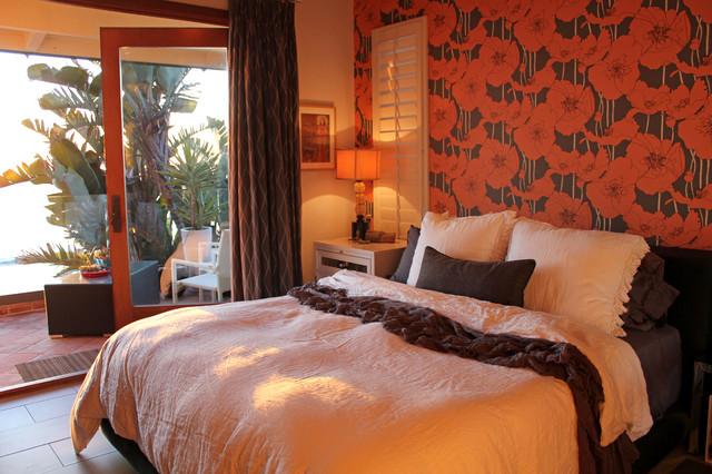 Colorful Bedroom with an Ocean Breeze eclectic-bedroom