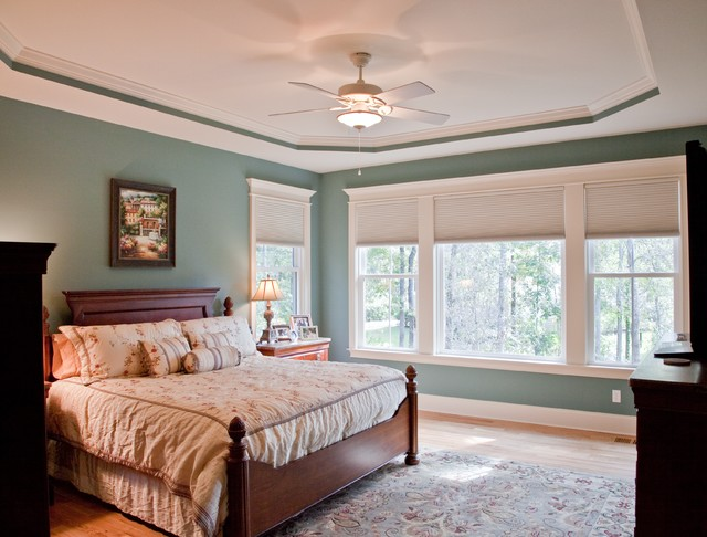 colors of mt pleasant traditional bedroom