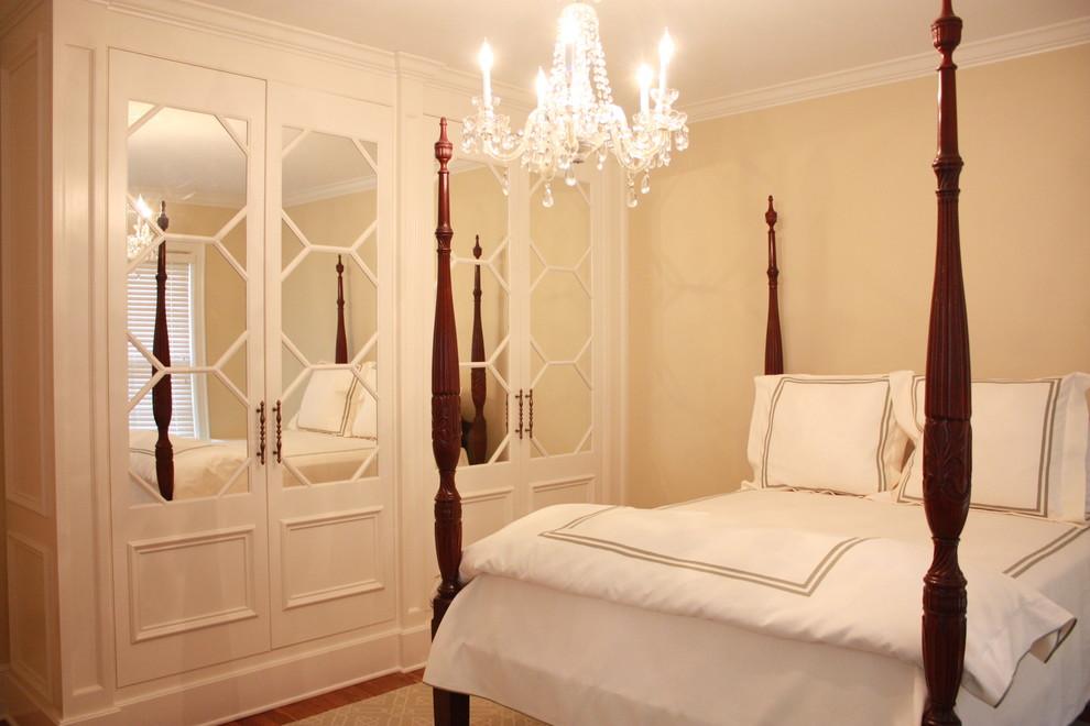 Example of a classic bedroom design in Atlanta