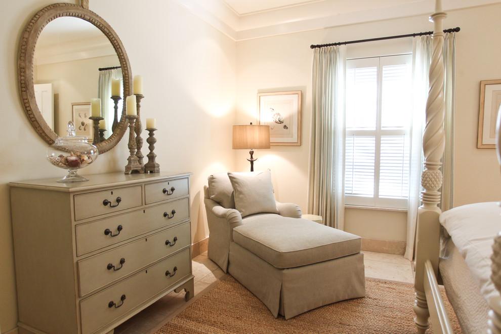 Bedroom - traditional bedroom idea in Charleston