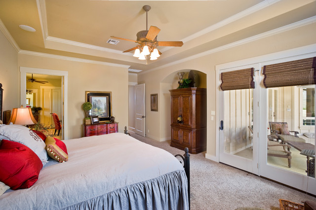 Comfortable Master Suite Traditional Bedroom By Authentic Custom Homes