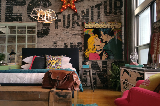 Comic Book Executive Industrial Bedroom Toronto By Teb