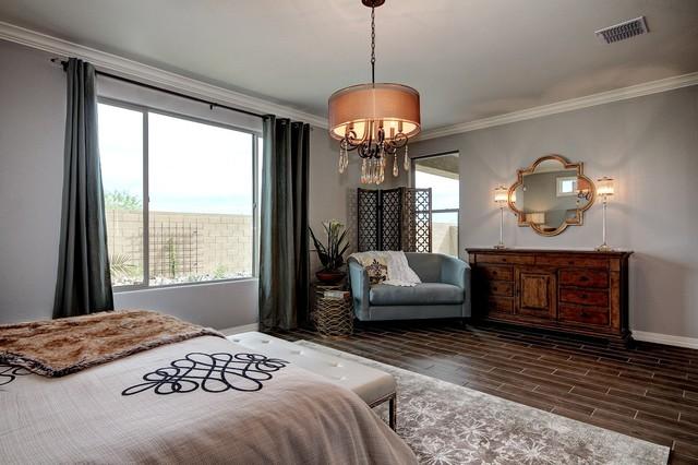 complete model home design surprise arizona landhausstil schlafzimmer phoenix von la z. Black Bedroom Furniture Sets. Home Design Ideas