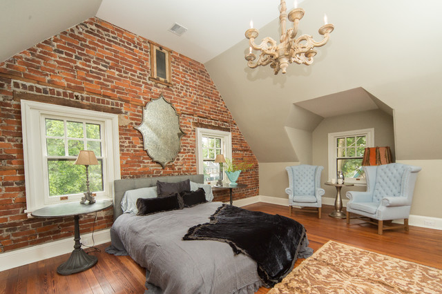 Complete restoration of a 110 year old tudor style home for Tudor style bedroom