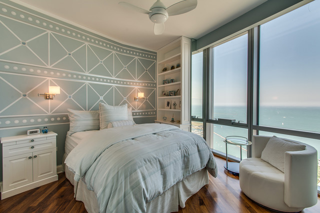 Concept I Fan By Minka Aire Transitional Bedroom