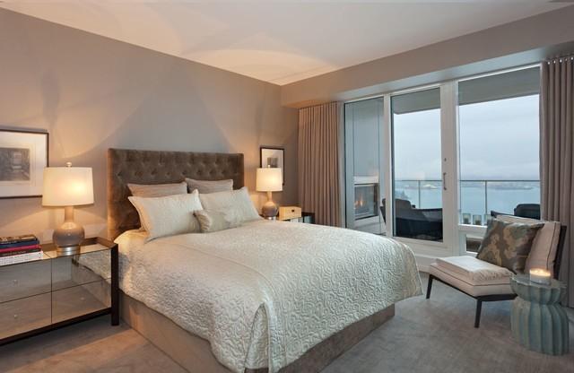 Condo Living traditional-bedroom