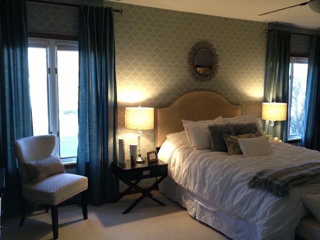 Condo Reno contemporary-bedroom