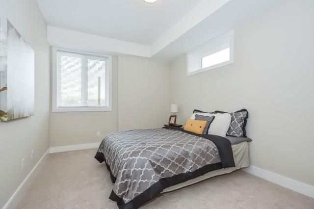 Example of a bedroom design in Toronto