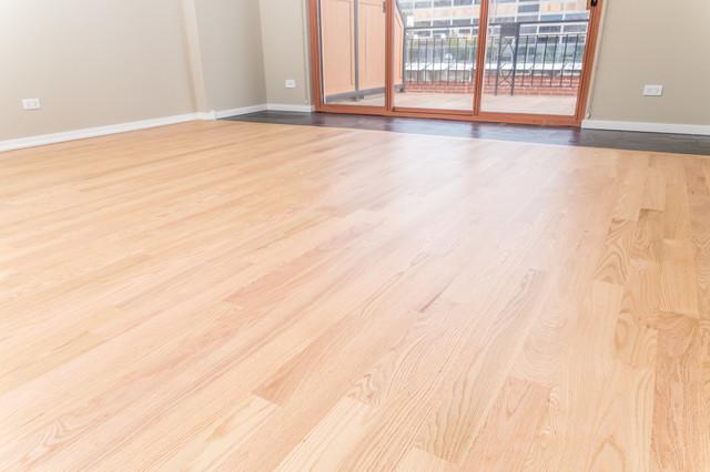 Condominium Floor Refinishing - Modern - Bedroom - chicago - by Chicago Flooring Innovations