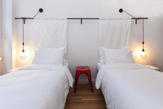 Conifer Endustriyel Aydinlatma Industrial Bedroom