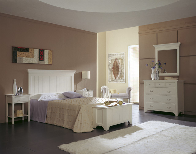 Conjunto matrimonio con ba l c moda espejo y mesitas - Baul para dormitorio ...