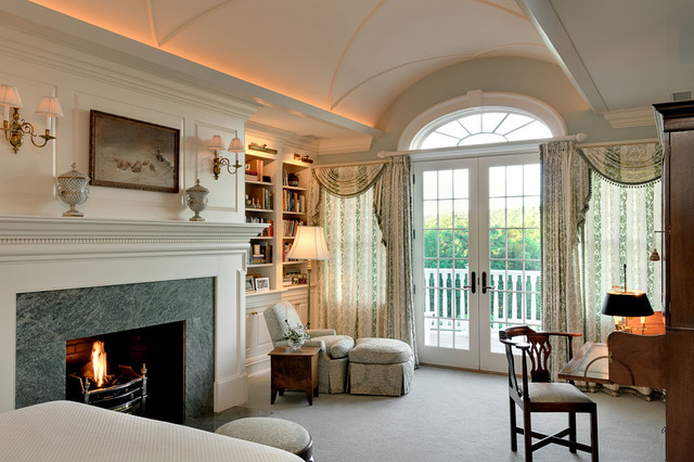 Connecticut Estate traditional-bedroom