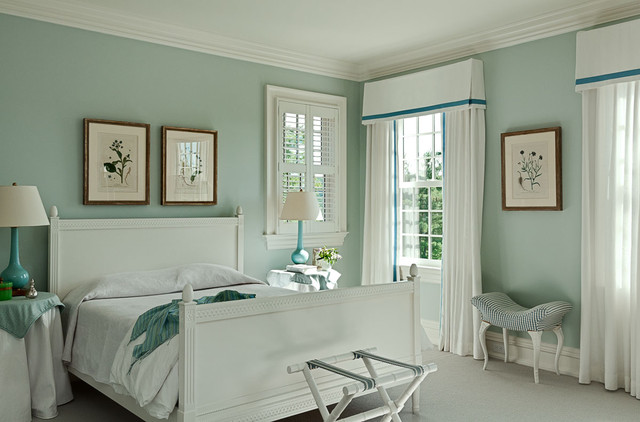 Nice Connecticut Estate Traditional Bedroom