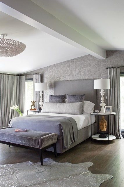 Connecticut Master Bedroom Transitional Bedroom Other By Susan Anderson Design White
