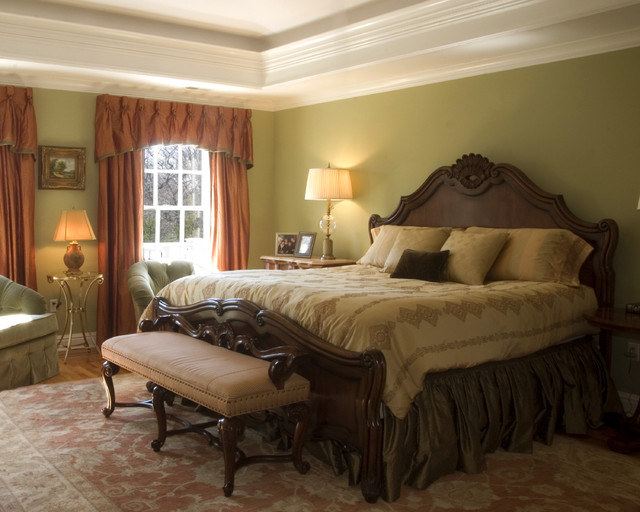 Connie cooper designs traditional bedroom new york by connie cooper designs Master bedroom ideas houzz