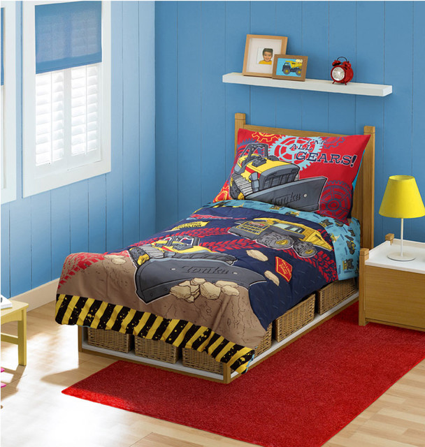 Construction Bedding And Room Decorations Modern Bedroom