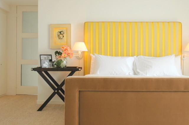 Contemporary Beach Apartment contemporary-bedroom