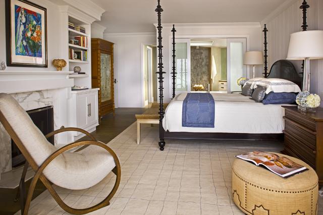 Contemporary Beach Home contemporary-bedroom