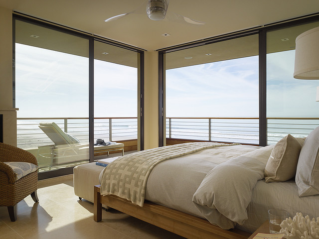 Contemporary Beach House - beach style - bedroom - san francisco ...