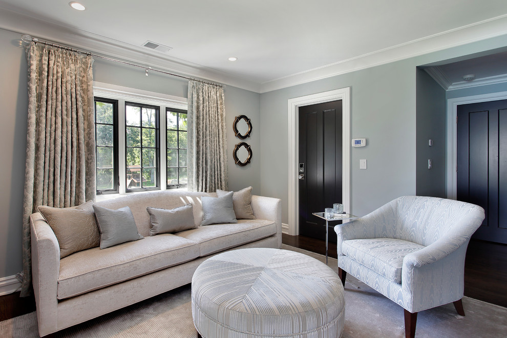 Inspiration for a contemporary bedroom remodel in Other