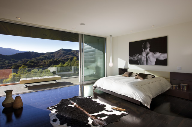 Abramson Teiger Lima Residence contemporary-bedroom