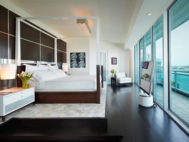 Modern Miami Apartments Miami Apartment Contemporary Bedroom Miami By Brantley