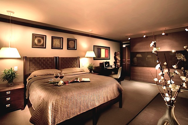 Nyc Penthouse Contemporary Bedroom New York By