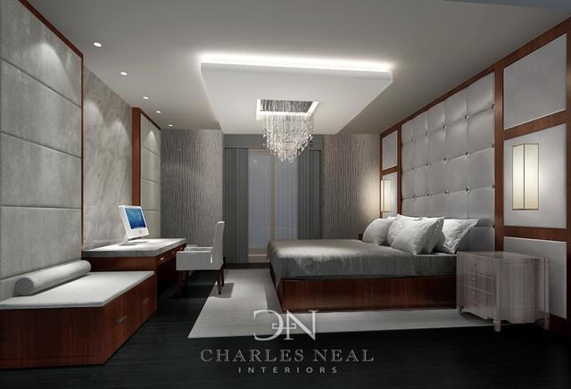 Atlanta interior design contemporary bedroom atlanta for Ultra modern bedroom designs