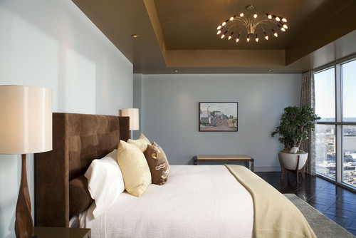 contemporary bedroom by Interior Designer -Mark Cravotta